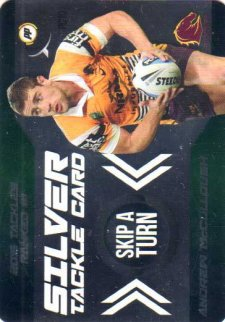 2016 NRL Xtreme Powerplay Power Card #PC10 Andrew McCullough Broncos