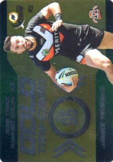 2016 NRL Xtreme Powerplay Power Card #PC3 James Tedesco Tigers