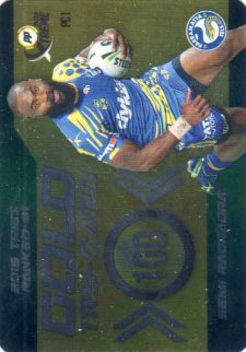 2016 NRL Xtreme Powerplay Power Card #PC1 Semi Radradra Eels