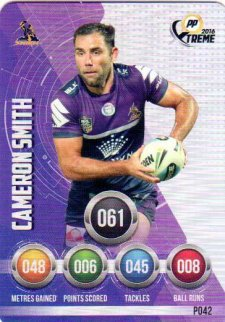 2016 NRL Xtreme Powerplay Parallel #P42 Cameron Smith Storm