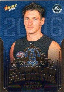 2016 AFL Footy Stars Brownlow Predictor #BP17 Andrejs Everitt Blues #66/250