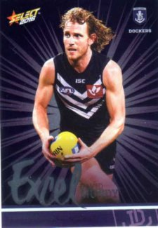 2016 AFL Footy Stars Excel Parallel #EP71 David Mundy Dockers