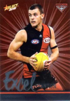 2016 AFL Footy Stars Excel Parallel #EP62 Brent Stanton Bombers