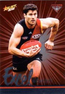 2016 AFL Footy Stars Excel Parallel #EP59 Ben Howlett Bombers
