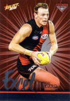 2016 AFL Footy Stars Excel Parallel #EP55 Brendon Goddard Bombers