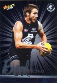 2016 AFL Footy Stars Excel Parallel #EP39 Dale Thomas Blues