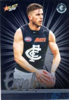 2016 AFL Footy Stars Excel Parallel #EP36 Marc Murphy Blues