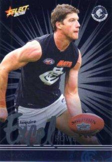 2016 AFL Footy Stars Excel Parallel #EP37 Sam Rowe Blues