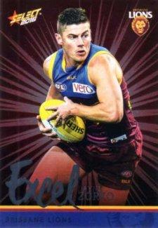 2016 AFL Footy Stars Excel Parallel #EP28 Dayne Zorko Lions