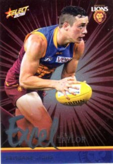 2016 AFL Footy Stars Excel Parallel #EP27 Lewis Taylor Lions
