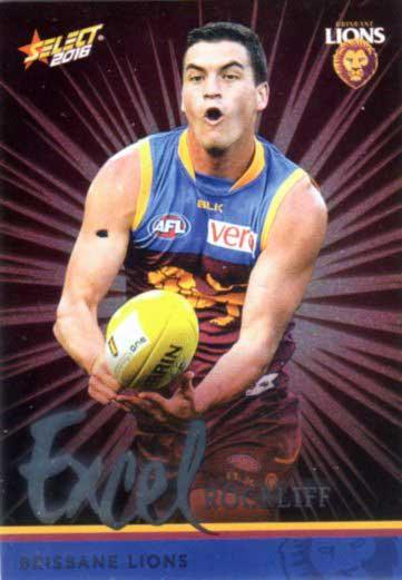 2016 AFL Footy Stars Excel Parallel #EP26 Tom Rockliff Lions