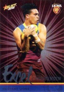 2016 AFL Footy Stars Excel Parallel #EP19 Allen Christensen Lions