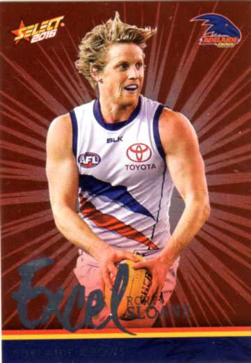 2016 AFL Footy Stars Excel Parallel #EP12 Rory Sloane Crows