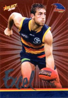 2016 AFL Footy Stars Excel Parallel #EP6 Richard Douglas Crows