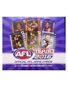 2016 AFL Teamcoach Sealed Box