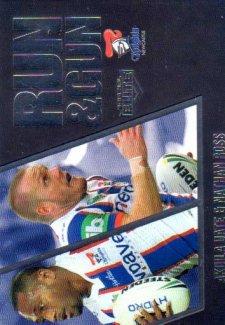 2016 NRL Elite Run & Gun Parallel #RGP15 Akuila Uate / Nathan Ross Knights #42/100