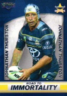2016 NRL Elite Box Card #BC1 Johnathan Thurston Cowboys
