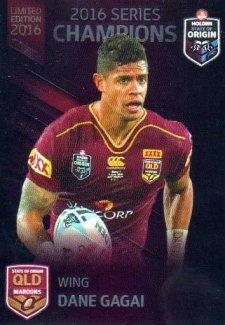 2016 State of Origin Series Champions Queensland Dane Gagai Knights Rep
