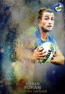 2016 NRL Elite 2016 Captains #C10 Kieran Foran Eels