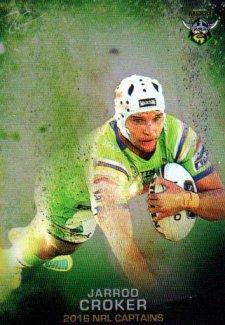 2016 NRL Elite 2016 Captains #C2 Jarrod Croker Raiders