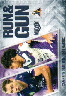 2016 NRL Elite Run & Gun #RG14 Cameron Smith / Tohu Harris Storm