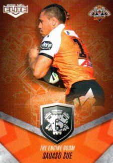 2016 NRL Elite Engine Room #ER64 Sauaso Sue Tigers