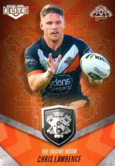 2016 NRL Elite Engine Room #ER62 Chris Lawrence Tigers