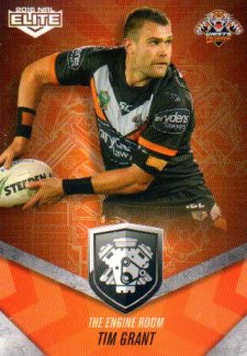 2016 NRL Elite Engine Room #ER61 Tim Grant Tigers