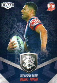 2016 NRL Elite Engine Room #ER56 Daniel Tupou Roosters