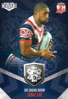 2016 NRL Elite Engine Room #ER55 Isaac Lui Roosters
