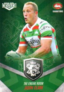 2016 NRL Elite Engine Room #ER45 Jason Clark Rabbitohs