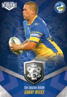 2016 NRL Elite Engine Room #ER40 Danny Wicks Eels