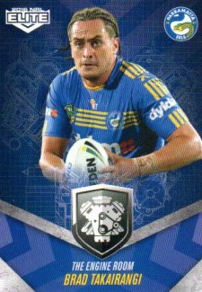 2016 NRL Elite Engine Room #ER39 Brad Takairangi Eels
