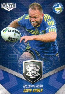 2016 NRL Elite Engine Room #ER38 David Gower Eels