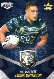 2016 NRL Elite Engine Room #ER36 Antonio Winterstein Cowboys