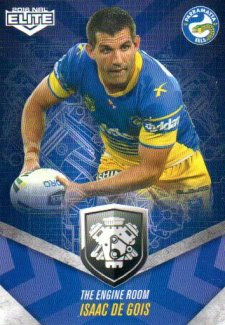 2016 NRL Elite Engine Room #ER37 Isaac De Gois Eels