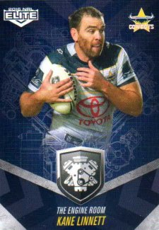 2016 NRL Elite Engine Room #ER35 Kane Linnett Cowboys