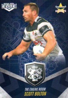 2016 NRL Elite Engine Room #ER33 Scott Bolton Cowboys