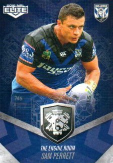 2016 NRL Elite Engine Room #ER12 Sam Perrett Bulldogs