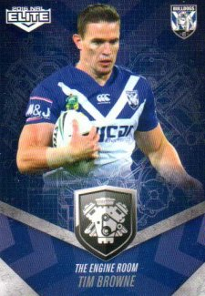 2016 NRL Elite Engine Room #ER9 Tim Browne Bulldogs