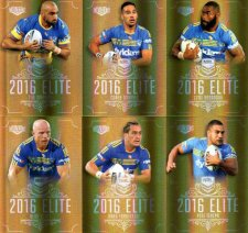 2016 NRL Elite Special Gold 12-Card Complete Team Set Parramatta Eels