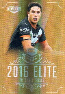 2016 NRL Elite Special Gold #SG187 Mitchell Moses Tigers