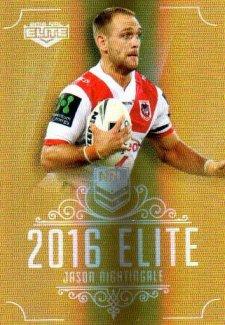 2016 NRL Elite Special Gold #SG153 Jason Nightingale Dragons