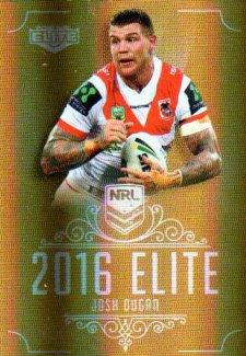 2016 NRL Elite Special Gold #SG148 Josh Dugan Dragons