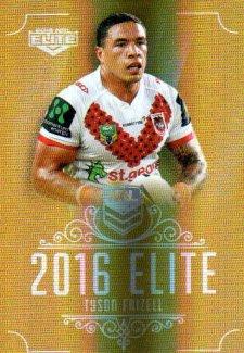 2016 NRL Elite Special Gold #SG149 Tyson Frizell Dragons