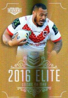 2016 NRL Elite Special Gold #SG146 Leeson Ah Mau Dragons