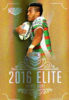 2016 NRL Elite Special Gold #SG140 Hymel Hunt Rabbitohs