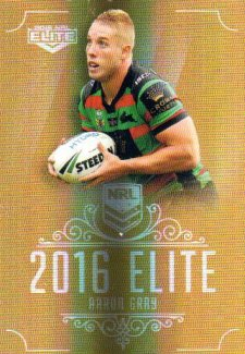 2016 NRL Elite Special Gold #SG139 Aaron Gray Rabbitohs