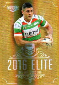 2016 NRL Elite Special Gold #SG138 Bryson Goodwin Rabbitohs