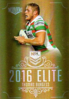 2016 NRL Elite Special Gold #SG136 Thomas Burgess Rabbitohs